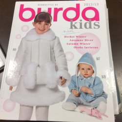 Burda Kids Inspiratie Showboek, 2012/2013
