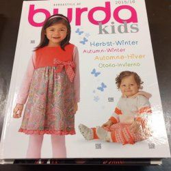 Burda Kids Inspiratie Showboek, 2015/2016