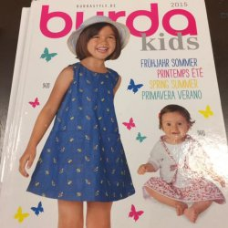 Burda Kids Inspiratie Showboek, 2015
