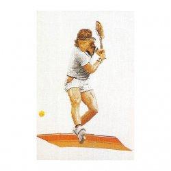 Thea G.Tennis op Aida of Linnen