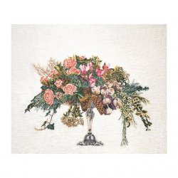 Thea G.Winter Bouquet op Aida of Linnen