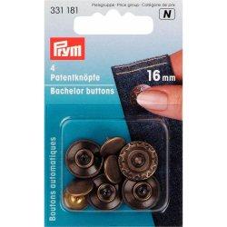 Prym Vrijgezellenknoop met spitse stift MS Aura 16 mm -5st 331.181