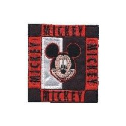 Applicatie Mickey Mouse Vierkant  013.6864
