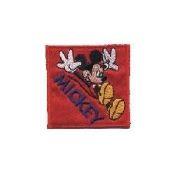 Applicatie Mickey Mouse Vierkant  013.6866