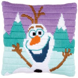 SPANSTEEKKUSSEN KIT DISNEY OLAF