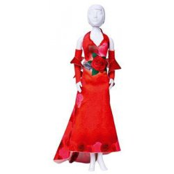 MAKING COUTURE OUTFIT KIT MARY RED ROSES