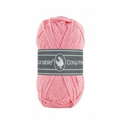Durable Cosy Fine kleur 229 Flamingo pink
