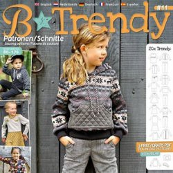 B Trendy Patronen Blad